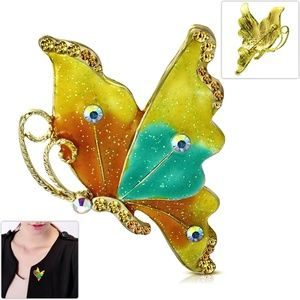 Fashion Colorful Butterfly Women Pin Brooch